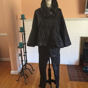 RLX Ralph Lauren Quilted Pullover Cape